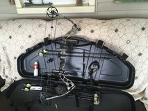 Compound bow in Fort Campbell, Kentucky