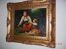 Antique Original European Oil Painting! in Alamogordo, New Mexico
