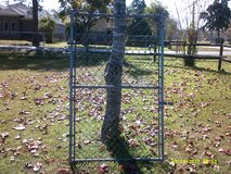 "6' high x 44"" wide H.D. Chain Link Fence walk-in gate complete assembly in Pasadena, Texas"