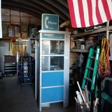 Phone booth in Alamogordo, New Mexico