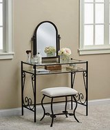 Vanity & bench set in Camp Lejeune, North Carolina