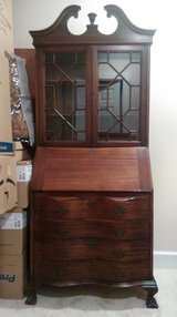 Antique Secretary Desk in Beaufort, South Carolina