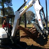 Excavator Rental from DeRidderRentals.com in Leesville, Louisiana