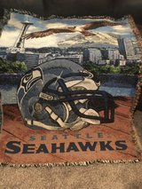 SEAHAWKS (Northwest Brand) Officially NFL Licensed Woven Tapestry Throw *** NEW in Tacoma, Washington