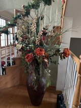 Large silk  flowers and vase in Chicago, Illinois