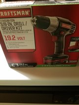 "New Craftsman 3/8"" Drill/driver kit in Plainfield, Illinois"
