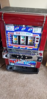 Game Room Poker Machine, with tokens in Joliet, Illinois