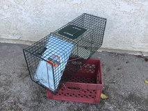 Live animal trap in 29 Palms, California