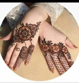 Henna party in Kingwood, Texas
