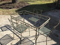 MAKE ME ANY OFFER Original 1940 iron Table and 4 chairs in Macon, Georgia