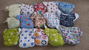 Cloth diapers (one size pocket) & inserts in 29 Palms, California