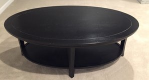 Pottery Barn Oval Coffee Table in Naperville, Illinois