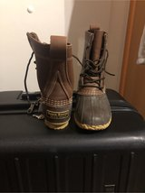 Brown LL Bean boots size 2M in Ramstein, Germany