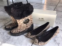 Authentic Coach Boots and Wedges in Lackland AFB, Texas