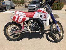 Yamaha YZ250 in 29 Palms, California