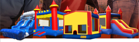 Inflatable Obstacle Courses For Your San Antonio, TX Parties in Lackland AFB, Texas
