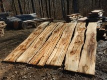 Live edge spalted maple slabs in Fort Campbell, Kentucky
