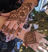 Ladies Henna Party in Kingwood, Texas
