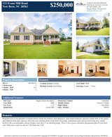 Stunning Home in Highly Desirable New Bern Subdivsion! in Cherry Point, North Carolina