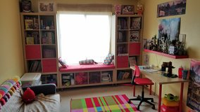 Book shelves-table-chair in Joliet, Illinois