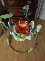 Fisher Price Rainforest Jumperoo in Conroe, Texas