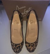 Christian Louboutin Pony Hair Heels - size 39.5 in Ramstein, Germany