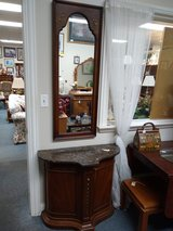 Hall Cabinet with Mirror in Naperville, Illinois