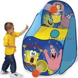 "SpongeBob SquarePants Playhut Hot Shot Tent Basketball 30""H x 30""L x 48""W In Excellent Condition in Plainfield, Illinois"