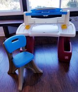 Kids Art Desk and Chair in Camp Pendleton, California