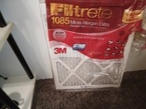 REDUCED!!!   Filtrete  1085 Micro Allergen Extra Filters  16x20x1 REDUCED 7 for $40.00 in San Antonio, Texas