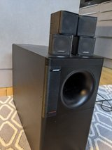 Bose subwoofer and speakers in Grafenwoehr, GE