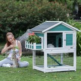 Petsfit 42.5 x 30 x 46 inches Bunny Cages,Outdoor Rabbit Hutch in Chicago, Illinois