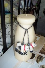 Cow Candle in Conroe, Texas