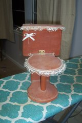 handmade toilet paper holder in Spring, Texas