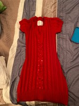 Justice red dress-size 8 in Sandwich, Illinois