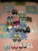 Baby girl shoes (NB-Size 4) in Okinawa, Japan