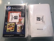 Two packs of Hp phot creation paper in Ramstein, Germany