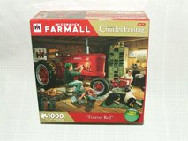 Mc Cormick Farmall Tractor Forever Red Jigsaw Puzzle Charles Freitag Art in Bolingbrook, Illinois