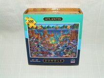 "Dowdle Folk Art Atlantis 500 Piece Puzzle 16"" x 20"" NEW in St. Charles, Illinois"
