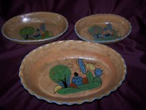 3pc Mexican Pottery Dishes in Alamogordo, New Mexico