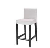 "HENRIKSDAL Bar stool with backrest, 30x19 "" (2) in Huntington Beach, California"