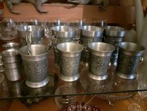1 of 8  VINTAGE ORNATE PEWTER HUNTING MUG Great condition in Ramstein, Germany