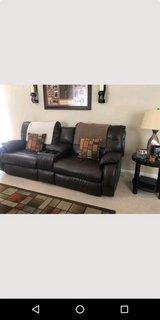 leather recliner sofa in Plainfield, Illinois