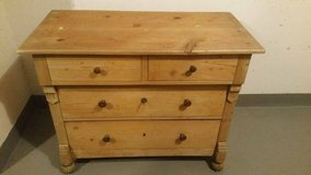 ANTIQUE SOFT WOOD CHEST OF DRAWERS  SIDEBOARD  around 1920 in Wiesbaden, GE