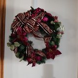 Christmas Wreath in Alamogordo, New Mexico