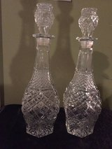 Crystal Decanters (price each) in Eglin AFB, Florida