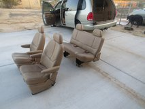 Leather Van Seats in 29 Palms, California