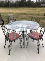 Wrought Iron Table and Chairs in Baytown, Texas