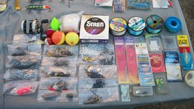 old fishing lures plus other items in Alamogordo, New Mexico