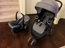 Graco stroller, car seat and base in Spring, Texas